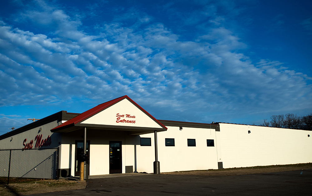 Scott Meats, Inc. is located at 260 E. Broadway Ave. in Muskegon Heights. The new location just opened in November of 2016